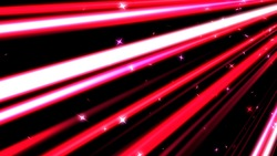 A colorful line of speedy and stars red background loops