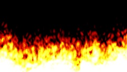 Background footages of the flame