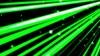 疾走感のあるカラフルな線と星 緑色 背景 ループ