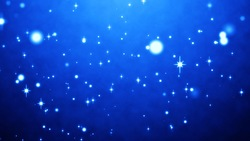 Blue sparkling background Beautiful particle background Video material (loop processed)