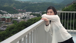 Yuka chan dancing. On the rooftop alone with you!