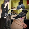【Images+movie】21 years old knee high socks! barefoot! Buttocks!