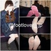 [Image] 19-year-old college students roll up wear socks! Stockings! Little panchira!