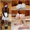 [Photos + bonus videos] 18-year-old beauty college students ' dirty white socks! Stockings! Bare feet!