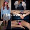 [Photos + tickling videos] 19-year-old amateur model women's University student's socks's activities at the SNS! Bare feet! Upskirt from & Hami hair!