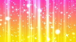 Increasing glitter background movie material pink and yellow
