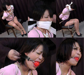 Cute Japanese Girl Chiaki Bound and Gagged First Time FULL