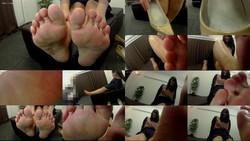 【フェチ界M男】高身長ギャル女王様の足の裏を舐めくすぐり・大笑い(ウェアラブルカメラ)