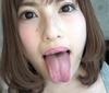 (1) [spit tongue observation] Hayakawa Mizuki-CHAN's tongue tongue observation subjective lens Rimming spit covered Danielle Derek!