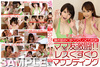1 whole ◎ sniffing licking moist showdown at the tickling! Moms friend gekitou! Lesbian Tickle mounting / peach vs Rio