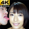【4K animation】 Female face licking Abe Nomiku