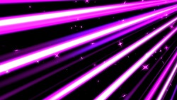 A colorful line of speedy and stars purple background loops