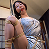 AD27 Nanako Bound & Gagged in Satin Lingerie Part1