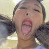 Ai Hoshina - Smell of Her Erotic Long Tongue and Spit Part 1