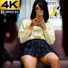 【4K animation】 Uniform beautiful girl train panchira mini skirt puffy looking into the back of beautiful legs you want to pure purity full of screens to you Yuki Kondo