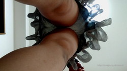 [Panchira] Lady mature housewife taking self directly panties had taken