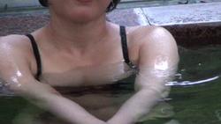 Yuka's bathing time