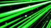 A colorful line of speedy and star green background loops