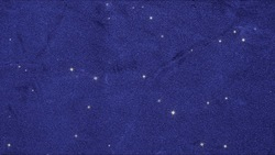 Lots of stars background videos can be looped on a blue velvet cloth