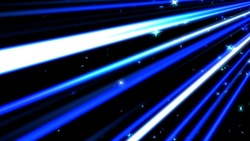 A colorful line of speedy and stars blue background loops
