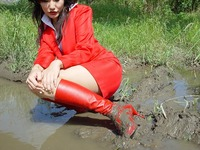 Wet&Messy Shoes画像集014