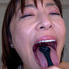 [Tongue fetish spit fetish] Shimazaki Kasumi hentai long tongue and saliva and mouth odor can enjoy course 2