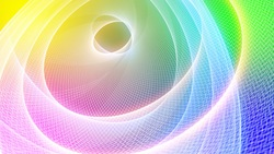 Turn circle colorful backgrounds stock footages