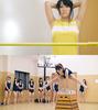 与女孩赤足的体育教育④