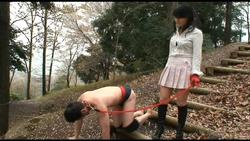 【甘美会】残虐!野外人間馬調教 #008