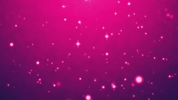 Purple sparkling beautiful particle background video material (loop processed)