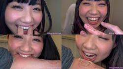 【噛みフェチ】噛むの大好き!笑顔が素敵な恋ちゃんが頑丈な歯で本気噛み!(前編)【一ノ瀬恋】
