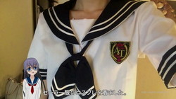 "Japanese Cosplay ""Sailor fuku""""water get clothes"" ""세라복"", ""sailor"""