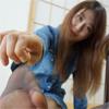 【¥800セール】足コキ&匂い大好き!!! vol.002 りあさんのムレムレの黒パンストの匂いと足コキで逝く!!!【新シリーズ】