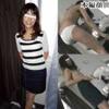 【着替え盗撮】高田●由子似のちっぱい若奥様をこっそり覗き見・・・