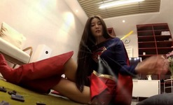Giantess Supergirl part 1