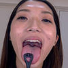 [Tongue fetish spit Fetish: erotic perfume plants Lennon's long tongue and saliva and mouth smell can enjoy course 2