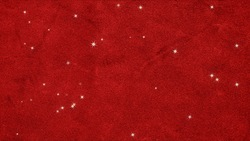 Lots of stars background videos can be looped on a red velvet cloth