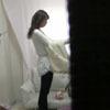 【控室盗撮】 清楚系お嬢さんのお着替えを撮らせていただきました。
