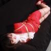 Marina Nakagawa - Secretary Bound and Gagged in Red Suit - Full Movie